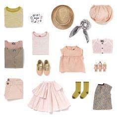 Rafa-kids: Spring / Summer 2015 at Bonton Paris - Kids Fashion Little Fashion, Girl Fashion, Fashion Design, Bonton Paris, Tocoto Vintage, Stylish Kids, Kids Wear, Kids Outfits, Summer Outfits