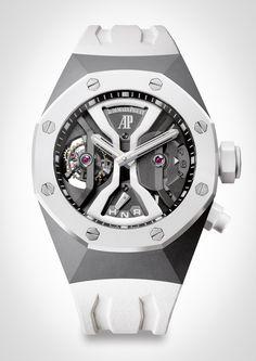 Audemars Piguet Concept White Ceramic Tourbillon - Pre-SIHH 2014 watch hands-on - WATCH ANISH