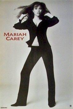 Mariah Carey 23x35 Daydream Era Poster 1995 Bell Bottoms & Blazer