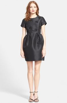 Kate Spade Women's New York Embellished Fit Flare Dress | Clothing