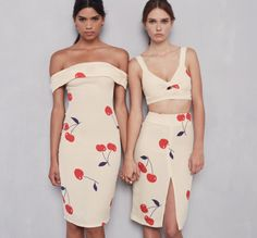 The Carrera Dress and Clinton Two Piece  https://thereformation.com/products/clinton-two-piece