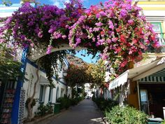 Puerto Mogan, Gran Canaria - a little quieter and more laid-back than a lot of the towns on Gran Canaria