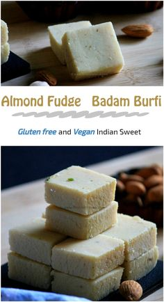 Almond fudge or badam burfi is a popular Indian sweet mainly prepared with powdered almond and sugar syrup. This is a quick and easy sweet which can be prepared with easily available ingredients. If you have ready made almond powder in hand, then within 15 minutes this sweet can be prepared. Here I have not used any milk and ghee. Only for greasing purpose, a little amount of ghee is used. And also here, there is no bothering of exact right consistency of sugar syrup. Instead of soaking the…