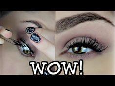 Applying False/Fake EyeLashes Under Your Real Lashes ? Does It Work ? | BeautyByJosiek