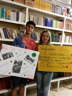 E. E. Martim Afonso da D. E. de São Vicente Selfie de  Responsa 2015 Professora Inez Rodrigues e aluno do Ensino Médio Eric Leone #selfiedaAprendizagem #NaEscolaeNavida #CircuitoDeJuventude2015 #SefiederesponsaSL