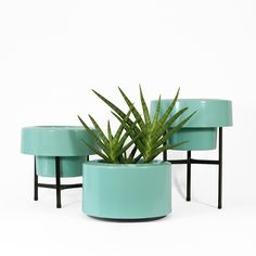 Add a little greenery and modern appeal to your balcony with the PODs Planter. http://www.yliving.com/blog/outdoor-spaces-balcony-retreat/