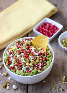 Guacamole with Feta,