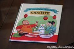 'Las suculentas aventuras de Chicote', su nuevo libro de cuentos para niños