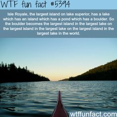 Isle Royale - WTF fun facts