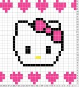 Hello Kitty Tricksy Knitter by Megan Goodacre