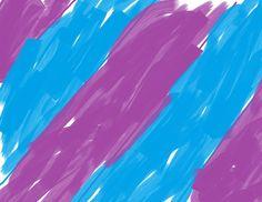 Blue and purple stripe colours