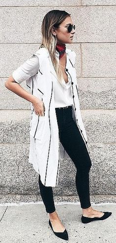 Jeans, a Button-Down, and a Duster Vest