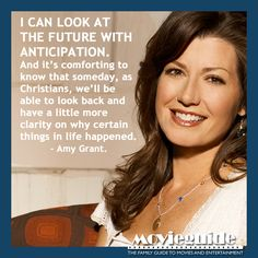 Beautiful perspective from singer, Amy Grant!