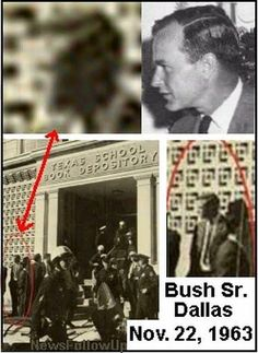 FBI Memo, Photo Link Bush Sr To JFK Dallas Murder Scene