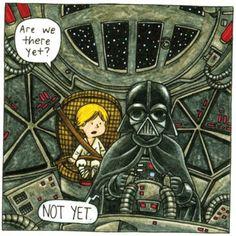 Darth Vader as a good dad