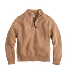 The perfect pulled-together layering piece. It's just like Dad's, only smaller. Even better: It's soft like cashmere but is completely machine washable. <ul><li>Cotton/cashmere.</li><li>Machine wash.</li><li>Import.</li><li>Online only.</li></ul>