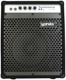 Warwick Bass Guitar Amplifier BC 40 A series of compact amplifiers for Bass instruments like nothing you have.. Rs. 10525 / $194.62