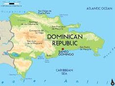 A Map of the Dominican Republic that Trujillo ruled for years.