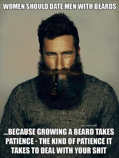 Men and Beards.... Sexy