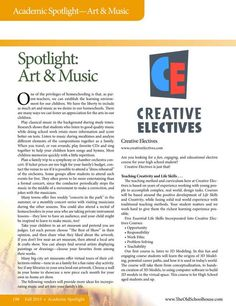Spotlight on Art & Music - The Old Schoolhouse Magazine - Fall 2015 - Page 198-199