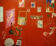 The Red Studio, 1911 by Henri Matisse #matisse #paintings #art