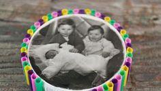 Idea fai da te per la Festa dei Nonni: Portafoto con le cannucce