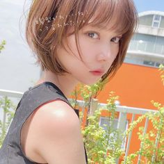 Pin on ショートヘア Short Bob Hairstyles, Hairstyles Haircuts, Short Bob Cuts, Ulzzang Hair, Hair Images, Everyday Makeup, Pixie Haircut, Hair Inspo, Pixies
