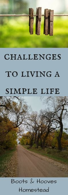 Challenges to Living a Simple Life - Boots & Hooves Homestead