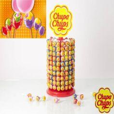 New Chupa Chups Trio. Zwei Schichten von gefülltem Gummi candy. Kaufen Sie es und teilen Sie es mit Ihren Freunden  https://espanaencasa.com/de/subigkeiten/4240-chupa-chups-trio-tubo-100-unidades-8410031952858.html