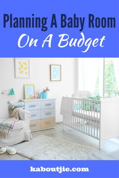 Planning the baby room is always high on a new mom's agenda and while you may be planning on splashing out there is really no need to spend too much. Planning on a baby room on a budget is easy to do.   #babyroom #babynursery #babyroomonabudget #planbabyroom #nurserydecor #nurseryinspo #kidsroom #nursery #babycrib #babymattress #babymonitor #nurserycolorscheme #babyroomdecor
