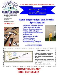 Wilson Home Improvement Tv Show  Info On Financing Home Repairs
