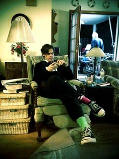 Matthew Gray Gubler (photo taken/posted by Thomas Gibson)