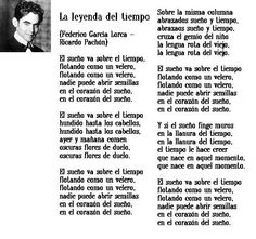Federico Garcia Lorca, La leyenda del tiempo