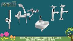 #Sanitary #Wares #Indian #Manufacturers Sharing Cleaning And Maintenance Tips
