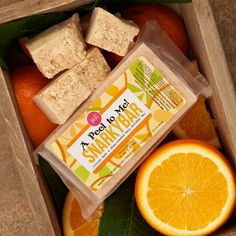 A Peel to Me Snarky Bar | Perfectly Posh An a-peel-ing twist on our classic Snarky Bar! Remove stubborn, unsmooth spots with natural loofah in a citrus-loaded shea butter soap base. Follow with some Scrumptious Sunshine Skindelicious for supremely soft skin with an orange oomph!