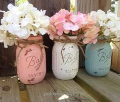 Look Over This shabby chic mason jars  The post  shabby chic mason jars…  appeared first on  Poll Decor .