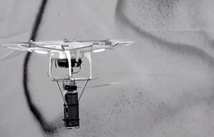 KATSU's Drone Graffiti Paintings Will Be Shown in an Exhibition at the Hole Gallery in New York