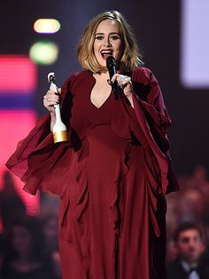 Star Tracks: Thursday, February 25, 2016 | GO WITH THE FLOW | Adele opts for an airy Giambattista Valli gown while scooping up a Brit Award for best female solo artist on Wednesday in London.
