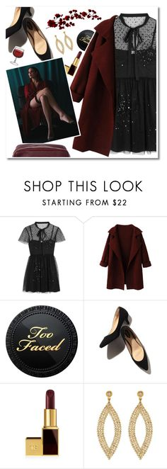 ""\ RED WINE"" by saintliberata ❤ liked on Polyvore featuring RED Valentino, Too Faced Cosmetics, Tom Ford, Amrapali and Chanel236|662|?|668e7e825719aaa997eb2551980b208e|False|UNLIKELY|0.3287874758243561