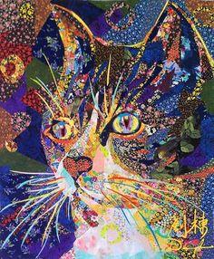 Danny Amazonas art quilt