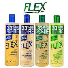 Revlon Flex Shampoo or Conditioner with Panthenol 592ml 20oz Free Shipping | eBay