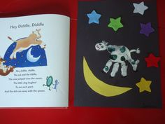 The Cow Jumped Over The Moon- counting & color review/Nursery Rhyme Month