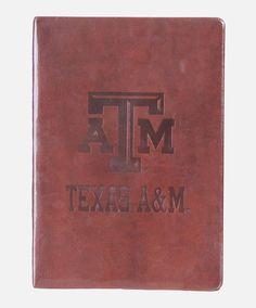 Texas A&M Leatherbound Journal #AggieGifts