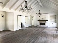 <div><ul><li>What a beautiful view when you step through the foyer of this amazing Country Craftsman house plan!</li><li>A huge vaulted and beamed ceiling extends across the great room and dining room where three sets of double doors lead out to the open patio in back.</li><li>From the giant kitchen island you can see all the way down to the great room fireplace.</li><li>Pocket doors slide closed when you need some quiet tim...