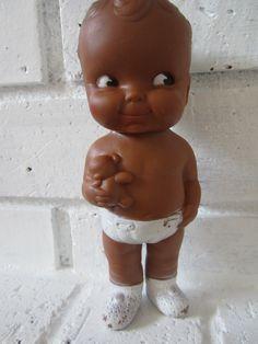 Edward Mobley Black Baby Doll in diaper African by katehartxoxo