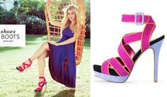 Jessica Simpson and her shoes.