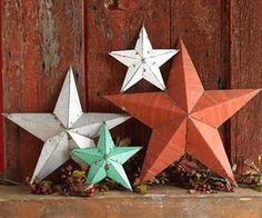 Cardboard stars...who knew?