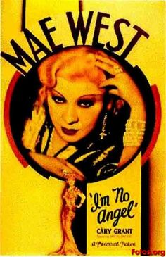 """""""I'm No Angel"""" (1933) directed by Wesley Ruggles, starring Mae West, Cary Grant"""