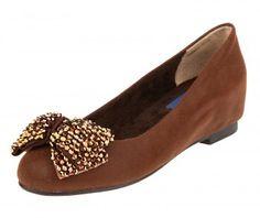 Brown Minia Ballet Flats
