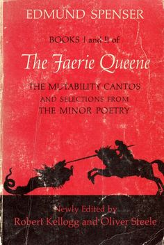 Spenser Faerie Queene Books Mutability Cantos Selections from Minor Poems Cool Books, My Books, Sleepy Bear, Best Book Covers, Faeries, Book 1, The Selection, Literature, Poems